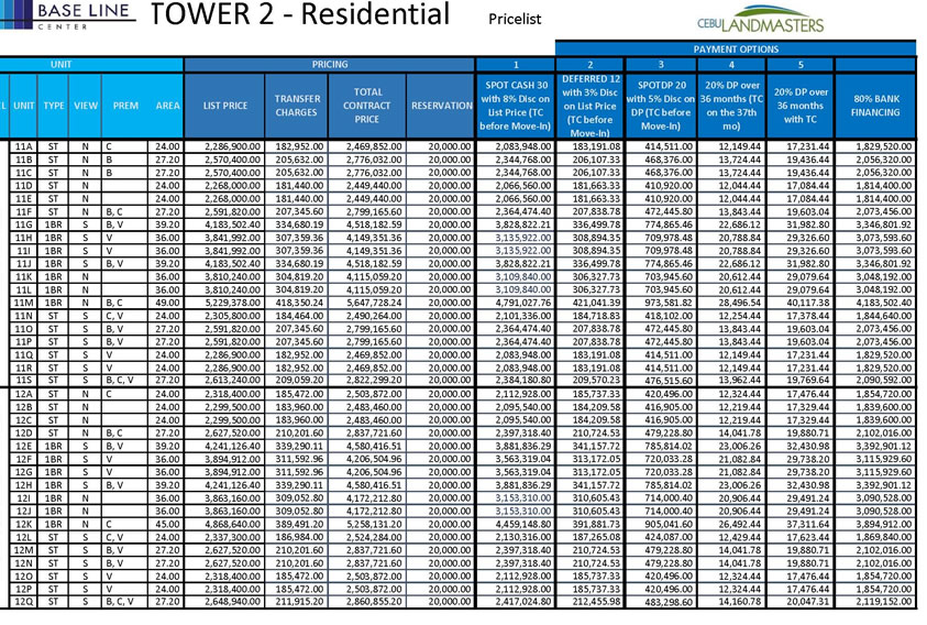 baselinetower2 feb2016 pricelist4