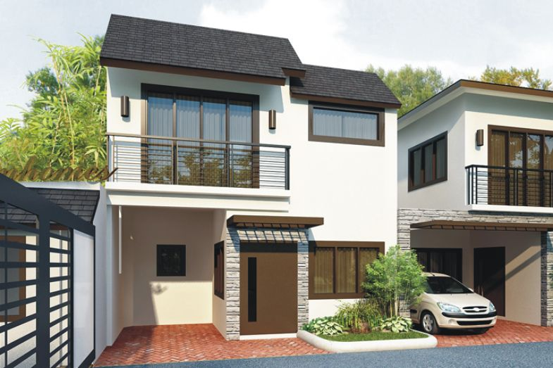 Brand new house and lot for sale in guadalupe cebu cty for Townhouse design in the philippines