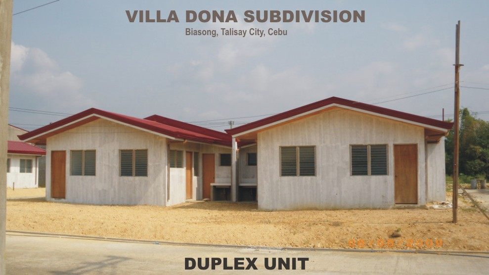 Villa dona talisay affordable and cheap housing in cebu for Cheapest houses in victoria